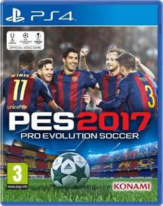 Pro Evolution Soccer 2017 PES PS4 XBOX ONE £26 tesco instore