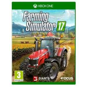 Farming Simulator 17 Xbox One/PS4 @ Smyths £31.99 (£26.99 with PRE5 pre-order code)
