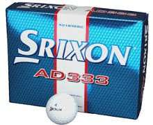 Srixon AD333 Golf Balls in store at Sports Direct - £15.99