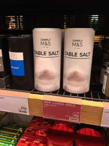 400g Table Salt - M&S - 18p