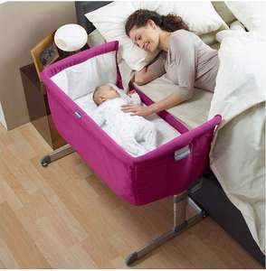 Chicco Next 2 Me Crib in Fuchsia  for £124.95 down from 165£ + free delivery @ online4baby.com