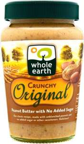 Whole Earth Crunchy Original Peanut Butter No Added Sugar (340g) was £2.58 now £2.00 (Rollback Deal) @ Asda