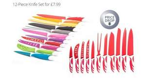 12-Piece Antibacterial Knife Gift Set for £9.98 including delivery @Groupon
