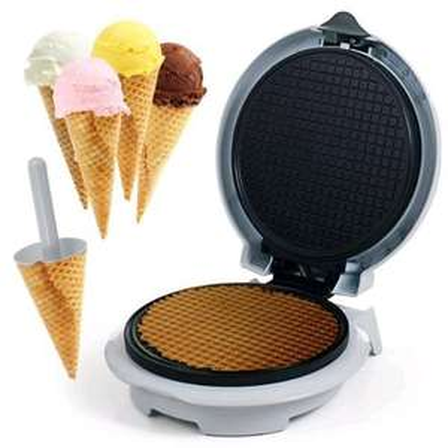 Waffle Ice cream Cone Maker- £12 + £2 C/C or £3 Del - £14 @ Tesco Direct