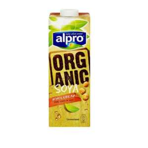 Alpro long life organic soya milk 1 litre was £1.40 now 75p at Tesco.