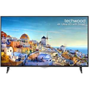 """Techwood 49AO3USB 49"""" Smart 4K Ultra HD TV with 4x HDMI / 3x USB £314.10 delivered using code + FREE next day delivery @ AO"""