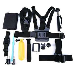 14 in 1 Sports Action Camera Accessories Kits for Gopro Hero 4 3 2 Action Camera-in Camera/Video Bags - £5.48 Aliexpress / TopCam Shopping Mall