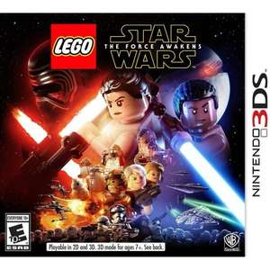 LEGO Star Wars: The Force Awakens 3DS Game with FREE BB8 drawstring bag £18.99 @ Argos
