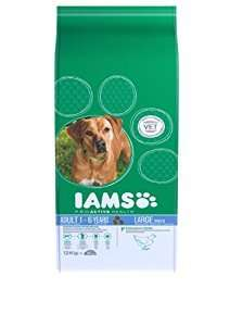 Iams Dry Dog Food Adult Large Breed Chicken 12 kg £20.99 Amazon