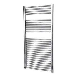 Flomasta Flat Towel Rail -  Chrome Plated  - 1200 X 600mm £39.99 Screwfix