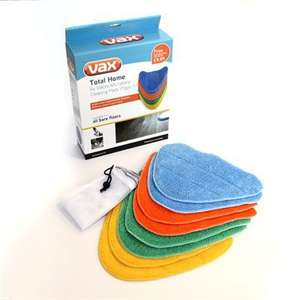 Vax Total Home 8 Pack of Microfibre Pads for Vax Steam Fresh Delivered for £9.98 idealworld TV
