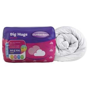 Slumberdown Big Hugs 10.5 Tog Single Duvet £6.50 FREE C&C at Tesco