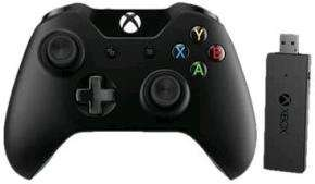 Microsoft Xbox One Controller + Wireless Adapter for PC £44.99 @ Ebuyer