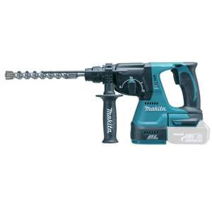 Makita DHR242Z 18 V 24 mm Cordless Li-ion SDS Plus Rotary Hammer Drill £112.50 @ Amazon (BODY ONLY)