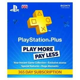 PlayStation Plus Card 1 Year Subscription £35 delivered with Code @ Tesco