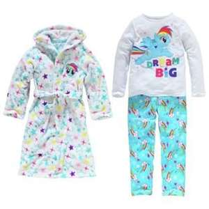My Little Pony / Marvel Avengers / Paw Patrol Pyjama Sets inc Robes reduced to £16.66 @ Argos