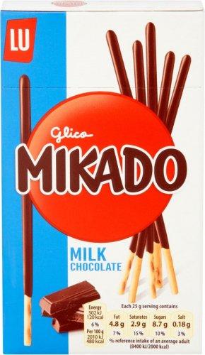 Mikado Milk 75g / Mikado King Tender Chocolate 51g Half Price was £1.39 now 69p @ Tesco