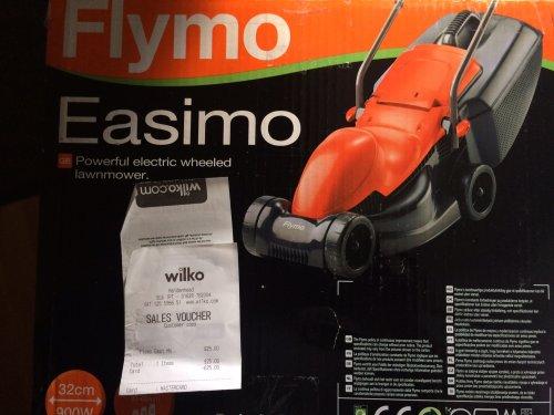 Flymo Easimo 32cm £25.00 Wilko instore