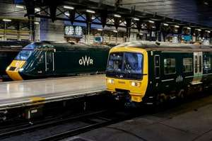 50% off advance single fares on GWR trains with a 16-25 card (booked before 31st Dec, travel before 31st Jan)