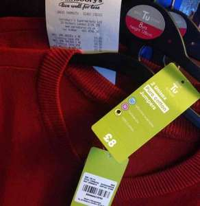 school uniform jumpers pack of 2 for £3.00 at Sainsburys Instore