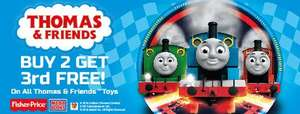Toys 'R' Us Promo - Thomas The Tank Engine 3 For 2 With Some Items Already Half Price!