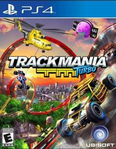 Trackmania Turbo PS4 PSN Sale £15.99 GBP Limited time period
