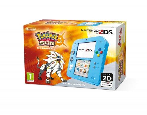 Pokemon Special Edition 2DS with Pokemon Sun £79 @ Amazon.