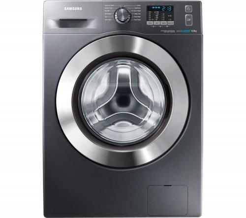 SAMSUNG ecobubble WF80F5E2W4X Washing Machine - Graphite/8KG+5 YEARS WARRANTY £339.99 *CURRYS*