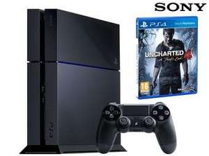 Sony PS4, 500GB w. Uncharted 4 £235.80 @ ibood