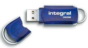 Integral Courier USB Pen Drive 32GB £7.33 Free Delivery @ OFFTEK