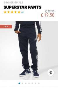 Adidas Superstar Pants @ Adidas Now £19.50 - £3.95 del