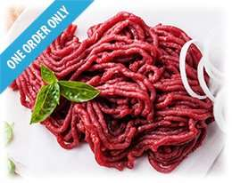 Muscle Food Lean Steak Mince 95p + £3.95 delivery.. £25 min spend needed