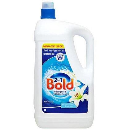 Bold 100 Wash Crystal Rain & Lily Liquid Detergent & Fab Softener - 5 Litres £9.58 @ Costco (Incl. VAT)