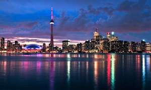 cheap flights to toronto return £210 @ Skyscanner