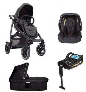 Graco evo xt pushchair bundle with carrycot,  car seat and iso fix Base. £469.96 @ Mothercare