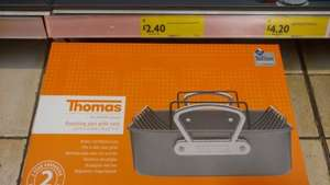 Thomas roasting tin and rack at Morrisons for £2.40