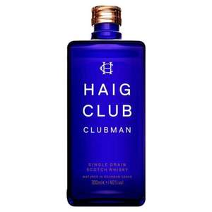 Haig Club single grain whisky £17 Morrisons online and in store