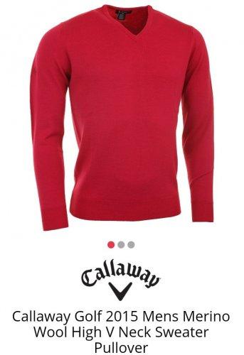 Golfbase Callaway Merino Sweater £21.90