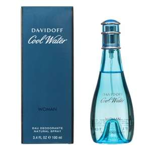 Davidoff Cool Water Ladies 100ml for £9.99 @ B&M