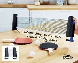Table Tennis Set Reduced to £2.49 (Two bats, net, 3 balls and carry bag) @ Aldi