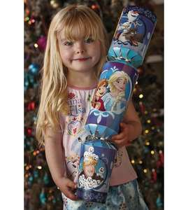 Giant Marvel, Frozen and Shopkins Christmas Crackers (was £11.99) Now £4.99 @ Studio