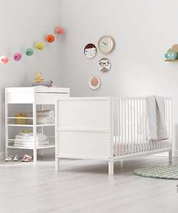 Free Anti-Allergy Spring Cot Bed Mattress worth £90 When you Buy a Mothercare Cot Bed @ Mothercare (prices from £129.95 Del for Both)