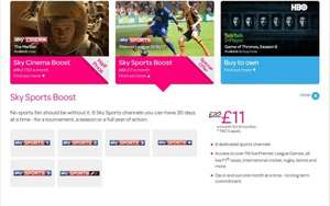 SKY SPORTS £11 A MONTH FOR 9 MONTHS WITH TALK TALK NOW TV OFFER £99