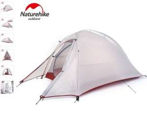 Naturehike CloudUp1 ultralight 1 person tent (1100grams excl pegs). Just £49.72 as part of AliExpress featured brands discount
