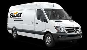 SIXT Van Hire £53 @ Sixt car & van hire