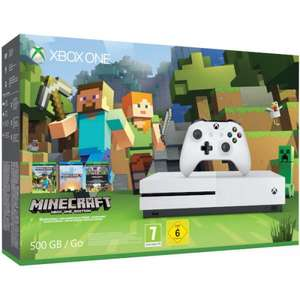 Xbox One S 500GB Minecraft Console £224 @ Tesco Direct - Use Code: TDX-HTNK
