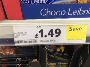Bahlsen Dark Choco Leibniz was £1.49, now £1.49 at Tesco [Actual price £1 at checkout]