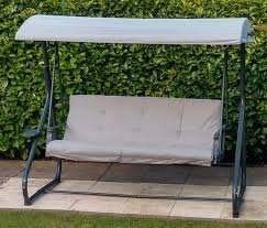 Cranbrook Steel 3 seater Swing Bench £115 @ b&q
