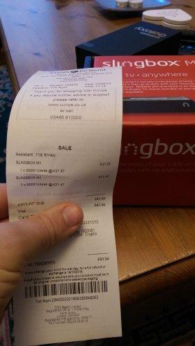 Slingbox m1 £21.97 @ PC World