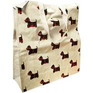 Canvas Scotty Dog Shopper Bag 80p (with code) + Free C+C @ The Works